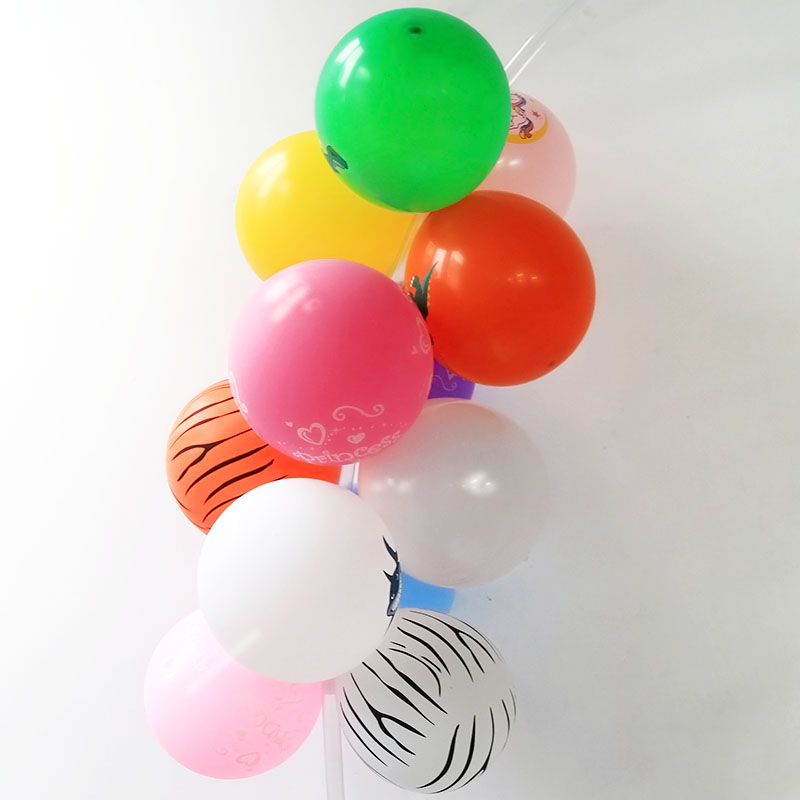 Image 4 - Cyuan Balloon Arch Garlands Kits Plastic Column Stand Balloon Box Latex Ballons Chain Clips for Birthday Wedding Party Decor-in Party DIY Decorations from Home & Garden