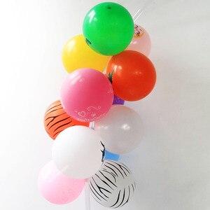 Image 3 - Cyuan בלון קשת זרי ערכות פלסטיק טור Stand תיבת בלון לטקס Ballons שרשרת קליפים עבור יום הולדת מסיבת חתונת דקור