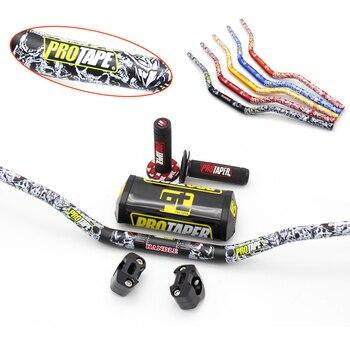 "Empuñaduras para manillar PRO, paquete de barra de 1-1/8 "", empuñaduras para Pit Pro Racing Dirt Bike, adaptador CNC para motocicleta de 28,5mm"
