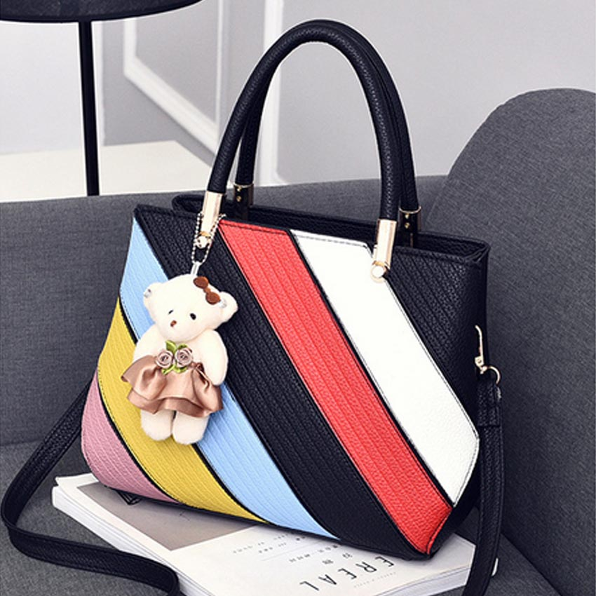New Arrival Women Messenger Bag patchwork Top Handbag Ladies inclined  shoulder woman bags handbags women famous brands 39hfx 7c3358caf73c3