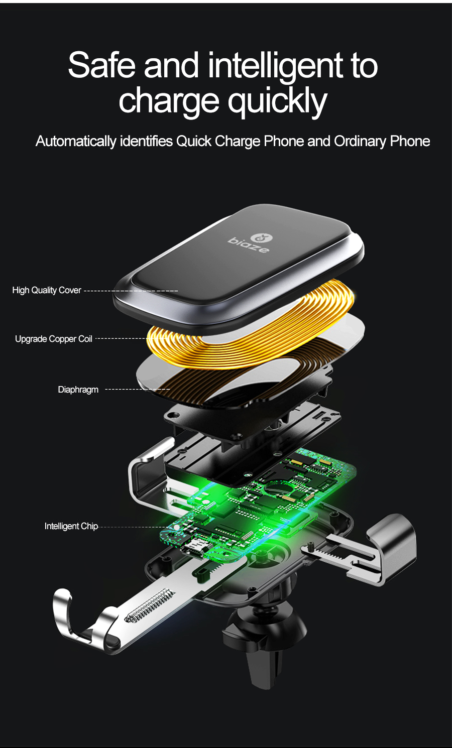 Wireless Car Charger;