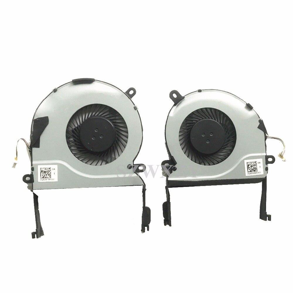 New original for UX501J Asus UX501 UX501JW UX501VW Laptop cooling fan L+R