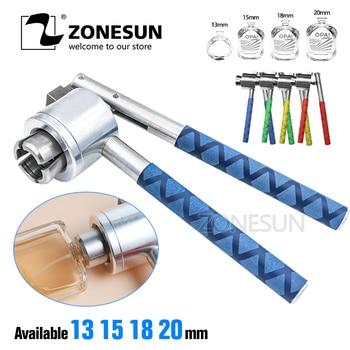 ZONESUN Hand capper,gland pressing, capping tool,noncorrosive steel,various color vial crimper sealing