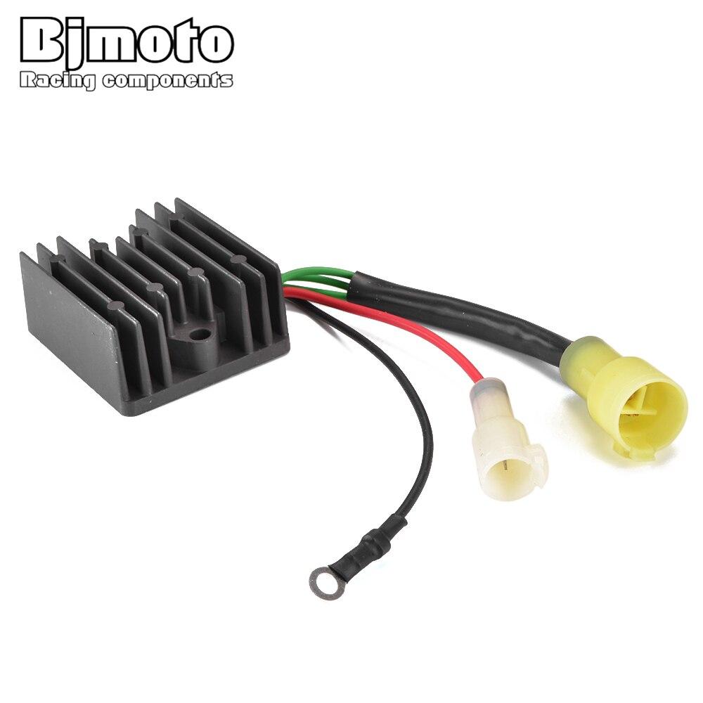 BJMOTO régulateur rectifieur Pour Yamaha 6R3-81960-10 TLR B115 V175 L130 C115 D150 S130 S150 S115 P175 V150 P200 P150 TXR TJR ETX