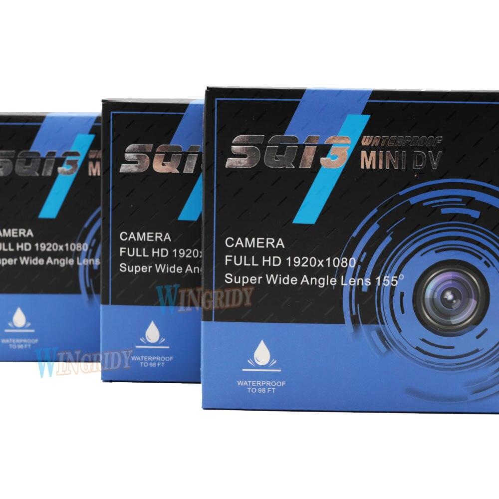 10 pièces SQ13 Original Mini caméra WiFi caméra Full HD 1080 P Sport DV enregistreur 155 Vision nocturne Action Cam caméscope DVR pk sq12 11