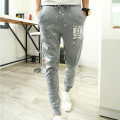2016 Men Casual Pants Stars Printed Sweatpants Tracksuit Trousers Men Brand Clothing Hip Hop Slim Fit Pencil Pants Mens Joggers