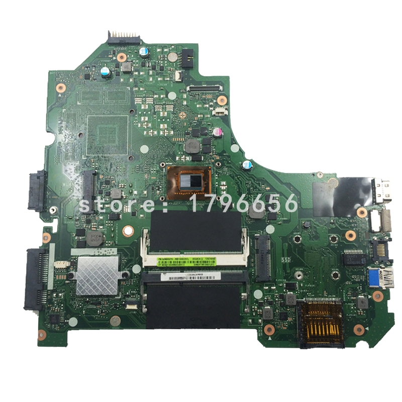 For Asus K56CM K56CA Laptop Motherboard With i3 CPU Integrated Graphics GM fully tested working good g41 motherboard fully integrated core 775 cpu ddr3 ram belt 4 vxd ide usb 100% tested perfect quality