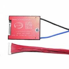 14 S 48 В 25A 35A 45A 60A BMS батарея управление системы PCM PCB для 18650 литий ионный батарея пакет с баланс