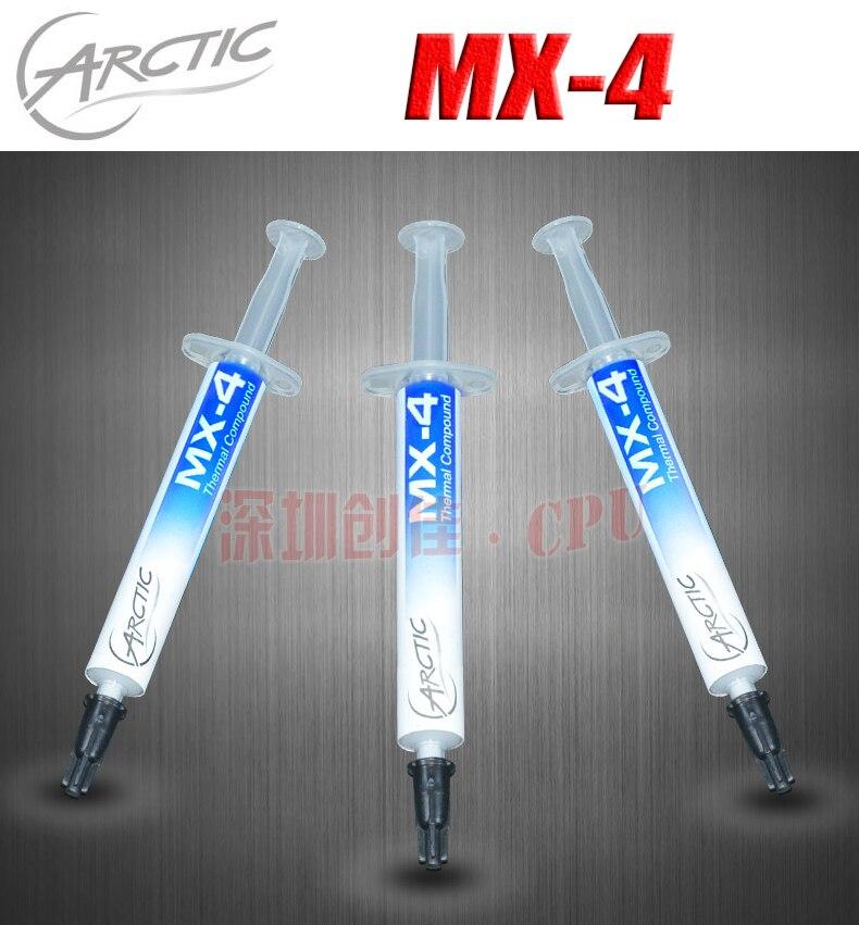 Vorlage ARCTIC MX-4 20g 8g 4g 2g 8,5 Watt/MK CPU Wärmeleitpaste Fett pads kühlkörper Paste kühlung für Overclocking prozessor