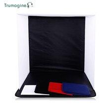 50x50x50 CM Portátil Dobrável Softbox Estúdio de Fotografia Suave Caixa Com 4 Fotos Fundos Para iPhone Samsang HTC DSLR