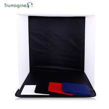 50x50x50CM Portable Folding Softbox Photography Studio Soft Box With 4 Photo Backgrounds For iPhone Samsang HTC DSLR
