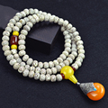 Natural A XingYue Bodhi Bracelet 108 Beads Vintage Amulet Bracelets Wood Tibetan Buddhism Jewelry Accessories Japa Mala