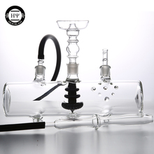 USA Glass Filter MP5 Hookah Tank Shisha Chicha Narguile Clear Bule Black Top Quality For Lavoo Narguile Smoking
