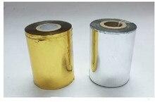 Goldene oder Silber Farbe Heißfolienprägung Papier Anzug Für Stempel DIY Einladung LOGO Goldene Folie Papier Wirtschaft Wahl