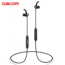 DACOM Bluetooth наушники 5,0 стерео Спорт беспроводной устойчивое бег Гарнитура в ухо Мониторы для samsung Galaxy iPhone