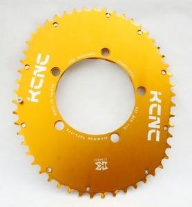Image 4 - KCNC K5 להב השני מלבני סגלגל chainring 110bcd כביש אופני chainring סגלגל 53T 39T 5 זרוע 114g 58g קל במיוחד תוצרת טייוואן