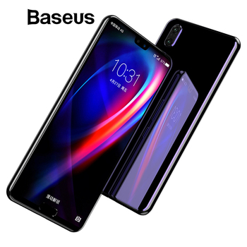 Baseus 0.3mm 3D Surface Full Coverage Screen Protector For Huawei P20 P20 Pro Tempered Glass 9H Protective Glass For Huawei P20
