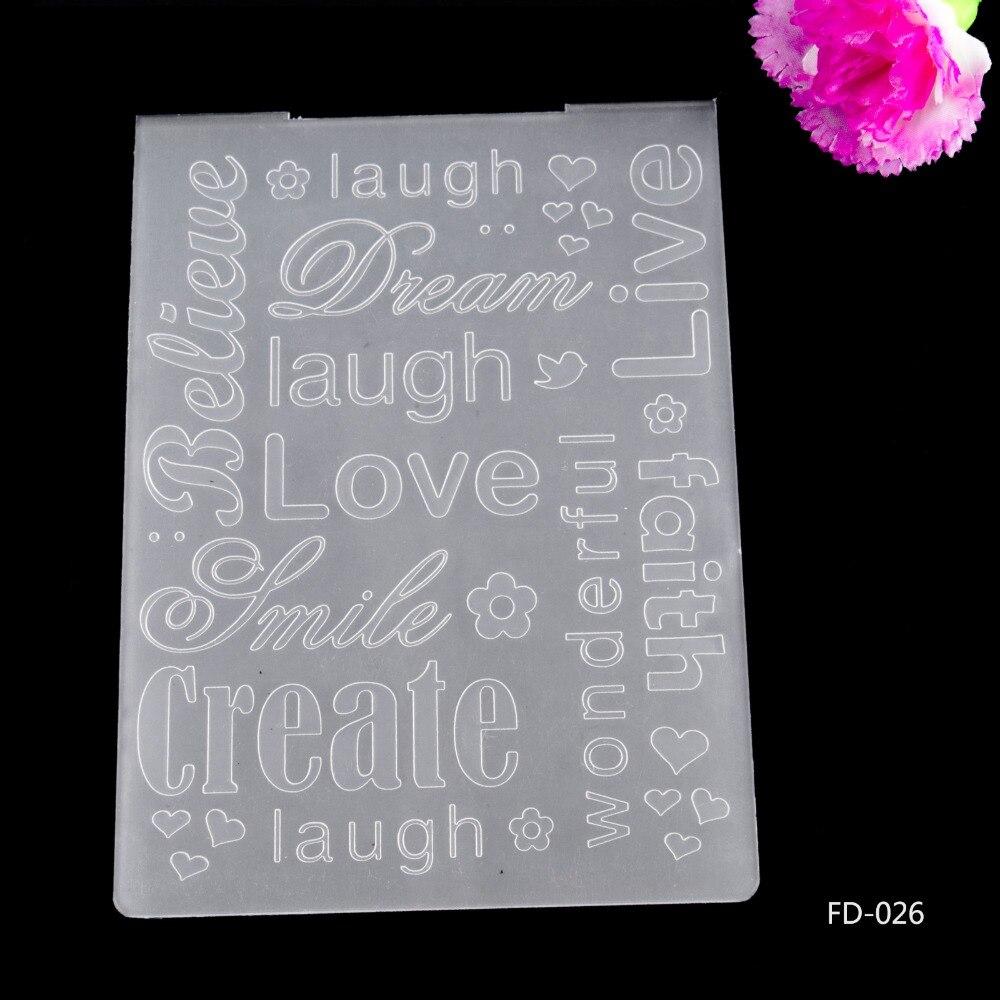 Scrapbook ideas china - 2016 New Arrival Scrapbook Laugh Love Dream Create Design Diy Paper Cutting Dies