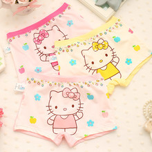 Girls Briefs Children Underwear Kids Cotton Panties Baby Infant Toddler Cartoon Characters Underpants Knickers 3pcs/lot