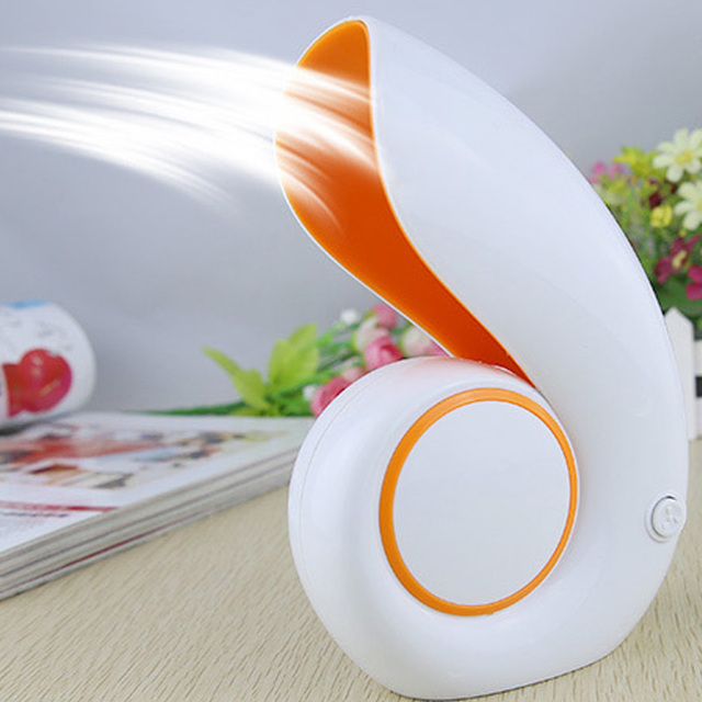 Gentil Hot USB Office Portable Handheld Mini Air Conditioner Bladeless Fan Desktop  Shell No Leaf Air Fan