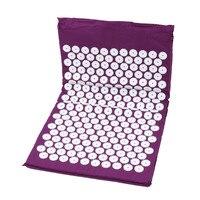 на ноге массаж подушки детские подушки Spike Cover массажер для головы стресса боли йога площадку для ног сзади лечение средства ухода за кожей релаксации