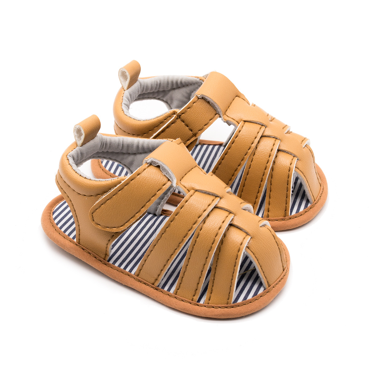 2018 Hot Fashion Baby Sandals Cute Color Infant Boy Summer Shoes Sale 0-12M