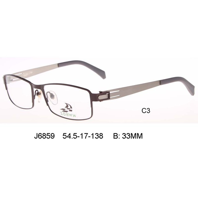 aa42e44a8a High quality business glasses male frame New men vintage optical frames  marcas computer Protection myopia Eyeglasses