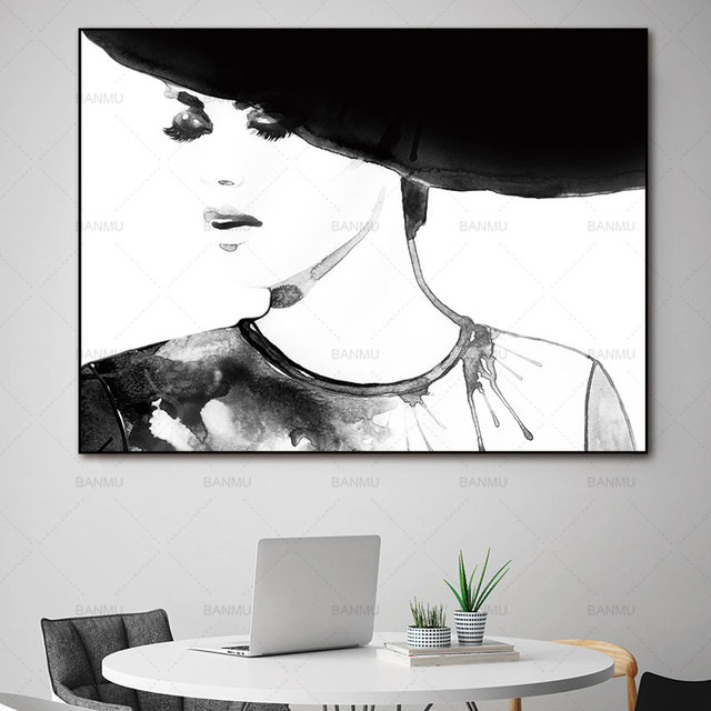 Wall Art Pictures Canvas Painting Make Up Fashion Posters And Prints