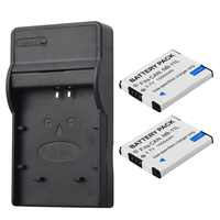 2Pcs NB-11L NB 11L NB11L NB-11LH Battery + Charger For Canon A2600 A3500 A4000IS IXUS 125 132 140 240 245 265 155 HS
