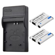 2Pcs NB-11L NB 11L NB11L NB-11LH Battery + Charger For Canon A2600 A3500 A4000IS IXUS 125 132 140 240 245 265 155 HS(China)