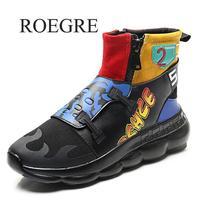 164c2110fdd6d Haute Qualité Mâle Occasionnel Chaussures Taille 39-45 Nouveau 2018 Marée  Adulte Tennis De Stretch