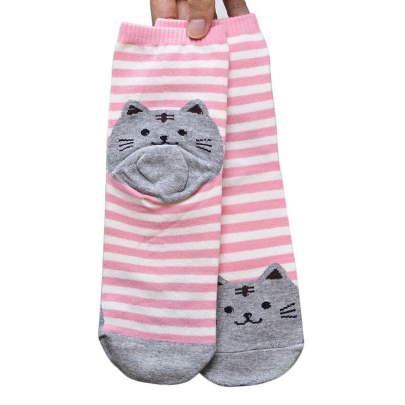 Cute Socks With Cartoon Cat For Cat Lovers Cute Socks With Cartoon Cat For Cat Lovers HTB1GREbQVXXXXaZXVXXq6xXFXXX0