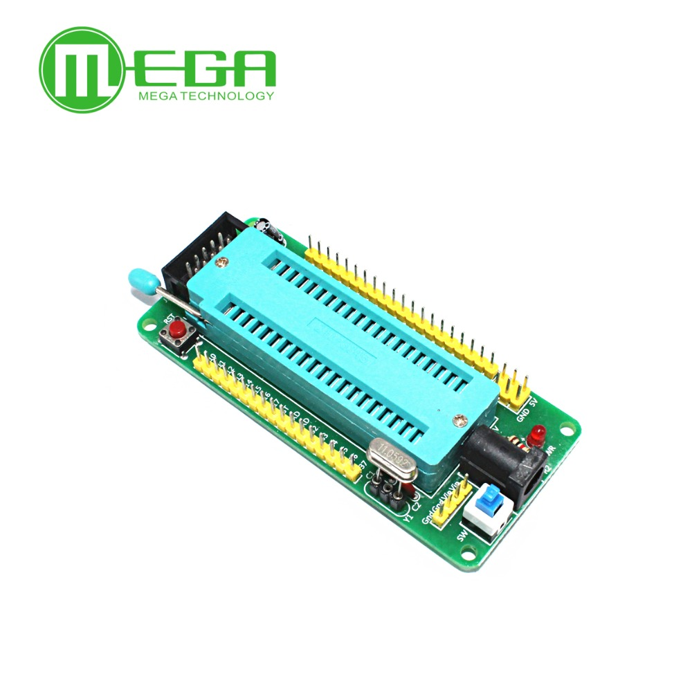 51 Avr Mcu Minimum System Board Development Learning Stc Atmel Usb Programmer Circuit Zif Socket Usbasp Atmega8 2 Microcontroller In Integrated Circuits From Electronic