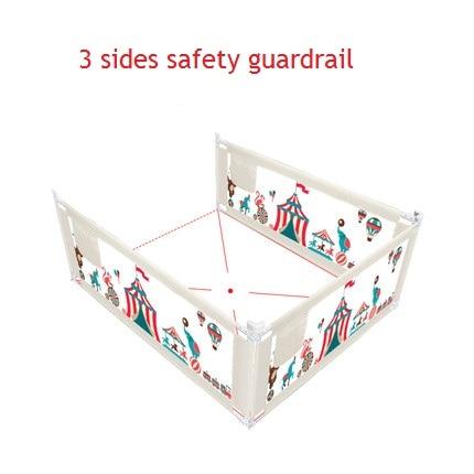 3-Seiten-Babybett Zaun Kinder Laufstall Sicherheitstor - Kinder Aktivität und Ausrüstung - Foto 5