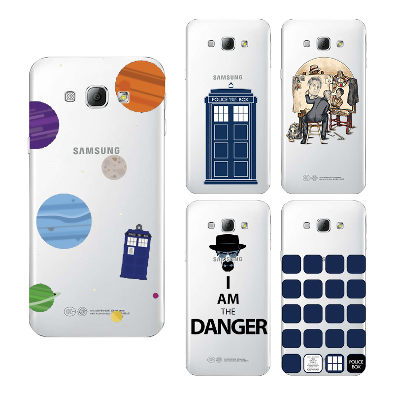 Tardis Box Doctor Who Soft TPU Silicone Cover Case For Samsung Galaxy S4 S5 S6 S7 S8 S9 Edge Plus A3 A5 A7 J3 J5 2016 2017 #1080