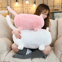 Cat Shaped Sofa Plush Pillow