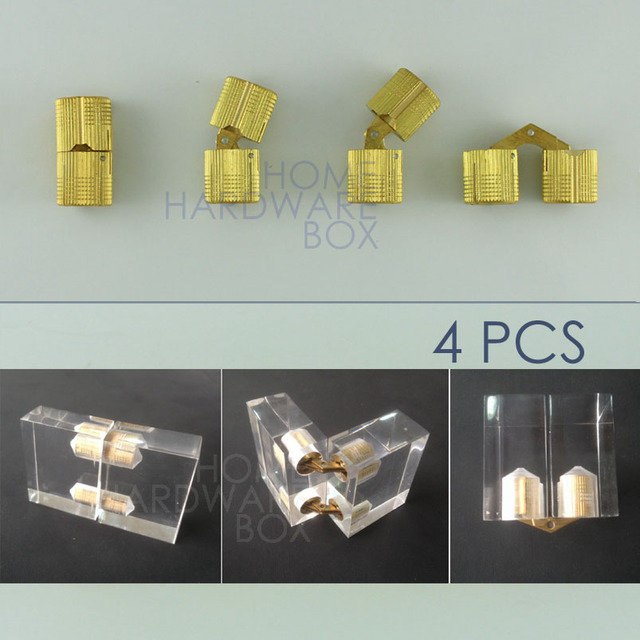 hidden box hinges. 4 Pcs Hidden Hinge Invisible Hinges Concealed Barrel For 22mm Thickness Board Box N