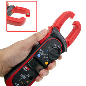 Brand UT204A UT204 UT-204A Digital Clamp Meter Multimeter VS Fluke Voltage AC Current Diode Auto Range AC-DC Max 600A