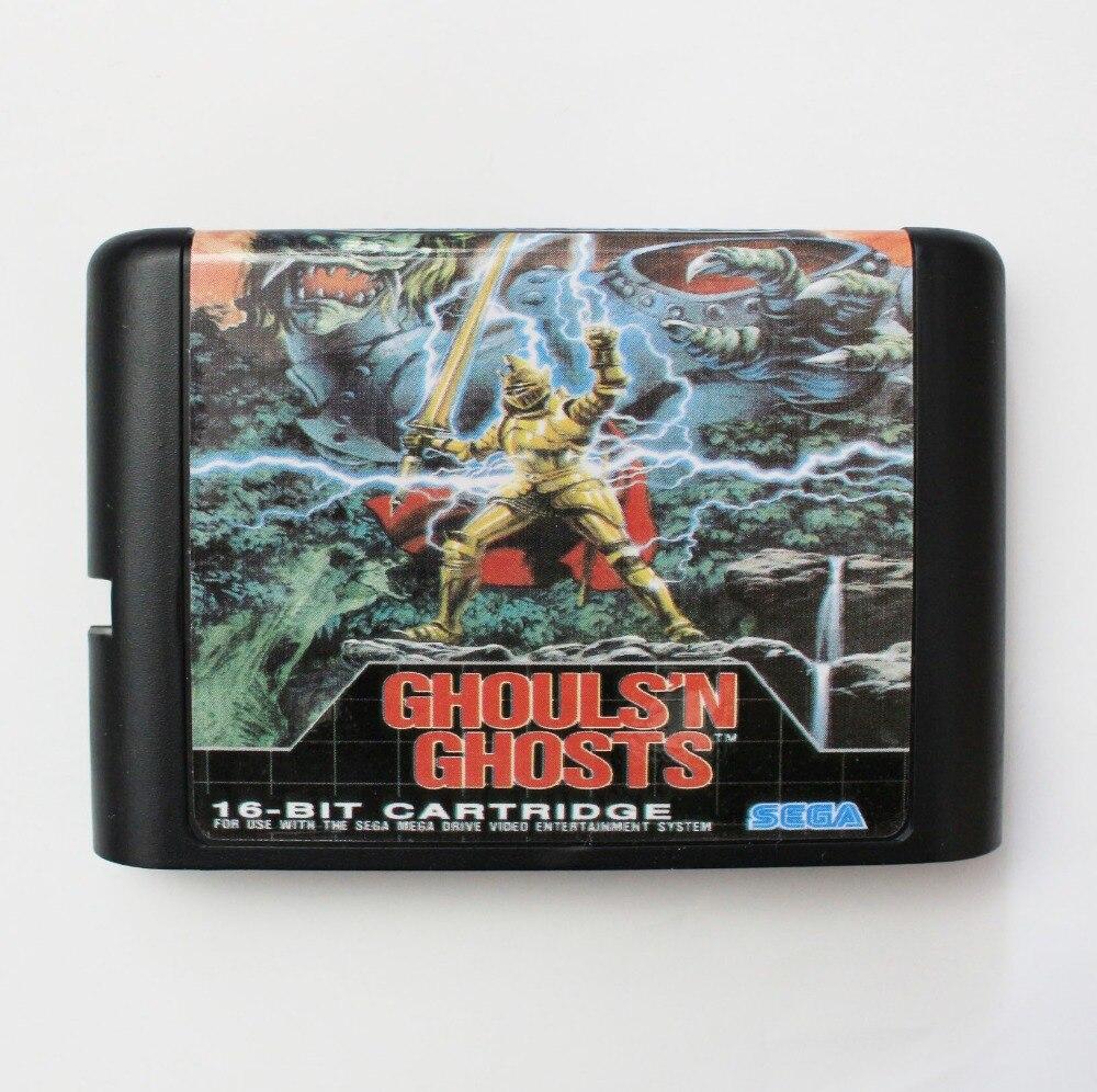 Ghousln ghost 16 bit SEGA MD Game Card For Sega Mega Drive For Genesis