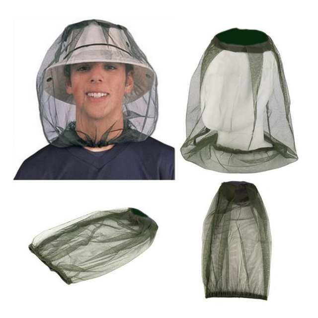 Camping Protector Hat Face Mesh Mosquito Head Insect HOT Travel Mosquito Net