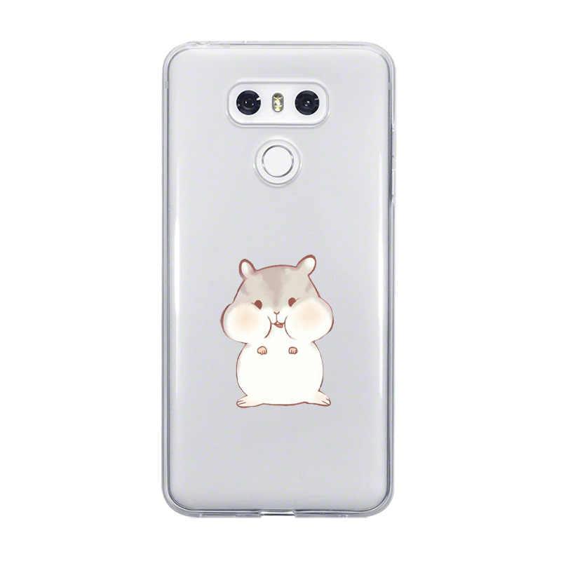 Ciciber غطاء ل LG G6 G7 G5 G4 V20 V30 V35 V40 THINQ لينة خنزير أرنب القط حقيبة لجهاز LG الهاتف K8 K7 K10 K4 2017 2018 K9 K11 زائد