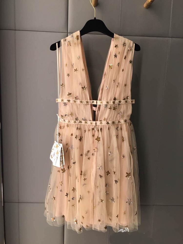 HTB1GRGtPFXXXXawXVXXq6xXFXXX9 - Summer Dress  Star Beads Jacobs Deep V JKP064