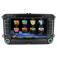 7 «2 Din Автомагнитолы DVD CD GPS Плеер для VW Seat Skoda Superb Octavia Fabia Roomster Yeti 2006 2007 2008 2009 2010 2011 2012