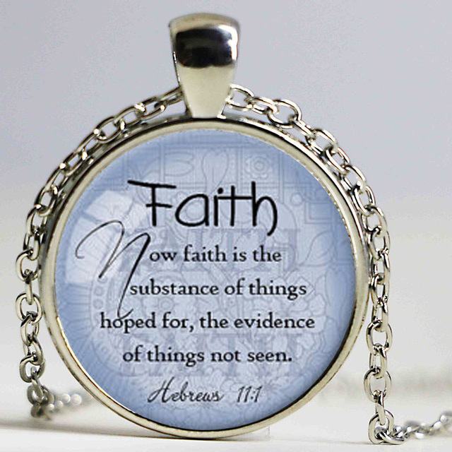 Faith hebrews 111 pendant bible quote jewelry scripture pendant faith hebrews 111 pendant bible quote jewelry scripture pendant faith necklace christian gift for negle Images