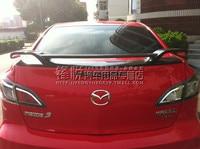 Mazda 3 탄소 섬유 리어 스포일러 리어 윙에 적합