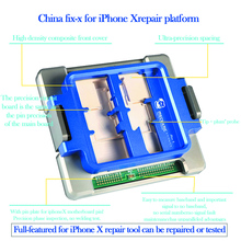 Chinafix x multi functional repair platform for iphone x Boot monitor touch camera flash receiver speaker