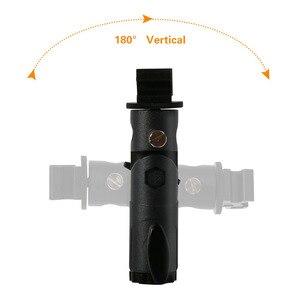 Image 5 - 2 упаковки, крепление для вспышки камеры Speedlite, поворотный светильник, подставка, кронштейн, зонт отражатель, держатель для canon, nikon, yongnuo, godox