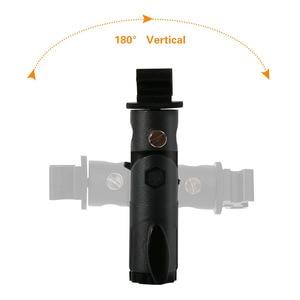 Image 5 - 2Pack Kamera Flash Speedlite Mount Swivel Light Stand Halterung mit Regenschirm Reflektor Halter für canon nikon yongnuo godox