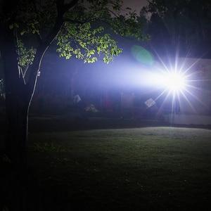 Image 5 - Supfire A2 LED el feneri Linterna LED EDC zumlanabilir flaş işığı SST40 18650 şarj edilebilir USB Torch 2000lm Zoom el feneri