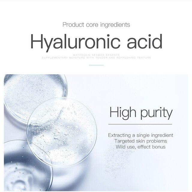 100ML Hyaluronic Acid Serum Facial Acido Hialuronico Bioaqua Essence Hyaluronik Asit Skin Face Serum Beauty Moisturizer 4